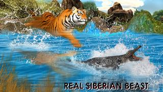 Wild Tiger Jungle Hunt 3D - Real Siberian Beast Attack on Deer in Safari Animal Simulator Game