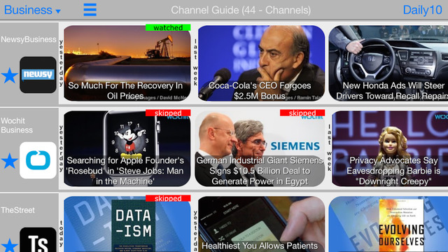 Daily 10 Videos - Discover a new way to stay informed