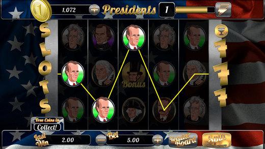 AAA Aacme Slots American Presidents FREE Slots Game