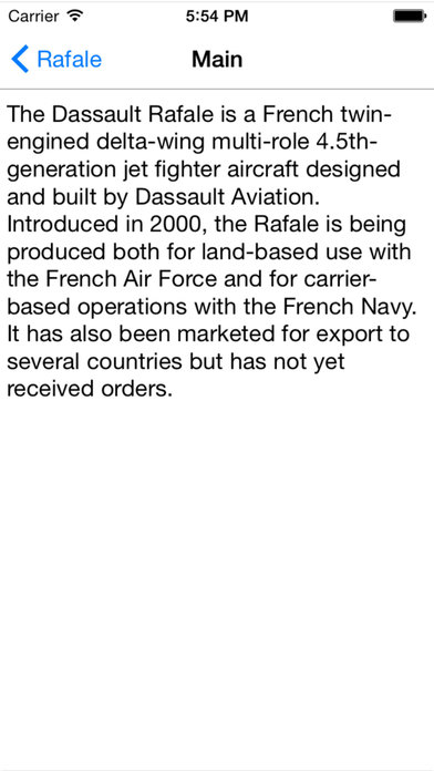 Europe Jet Fighter For iPhone iPhone Screenshot 4