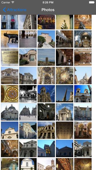 Rome Travel Guide Offline iPhone Screenshot 3