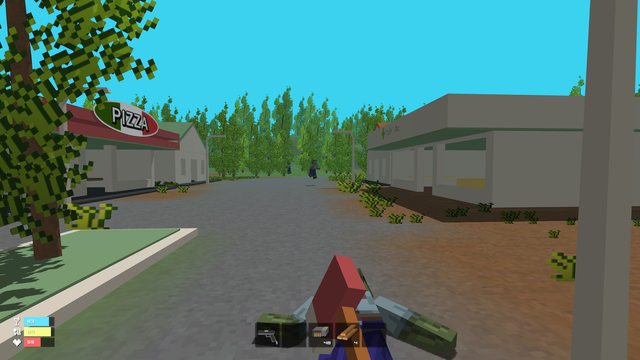 Zombie Strike - Survival Shooter Mini Block Game with Multiplayer Worldwide