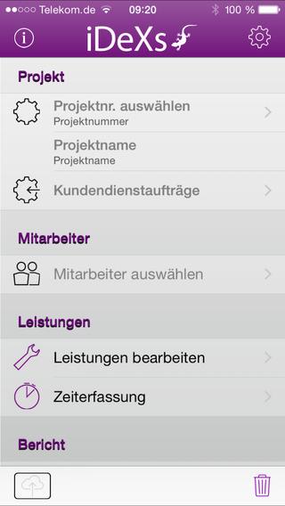 iDeXs pro iPhone Screenshot 3