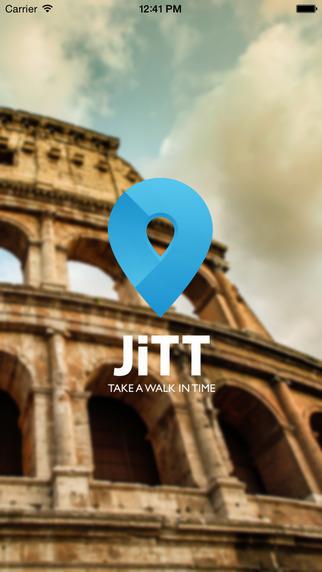 Roma Audio guida JiTT della città tour planner
