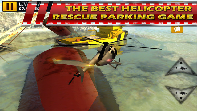 Helicopter 3D Parking Simulator Play and Test Fly