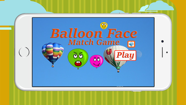 Balloon face math game