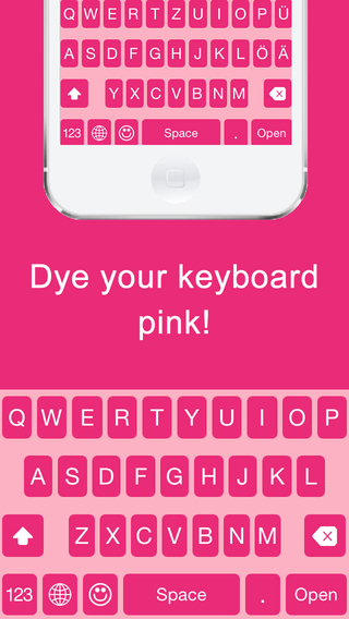Pink Keyboard Free