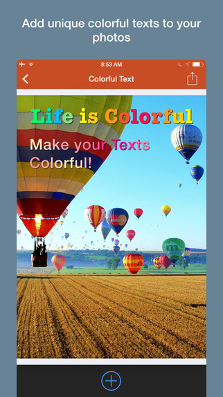 Colorful Text