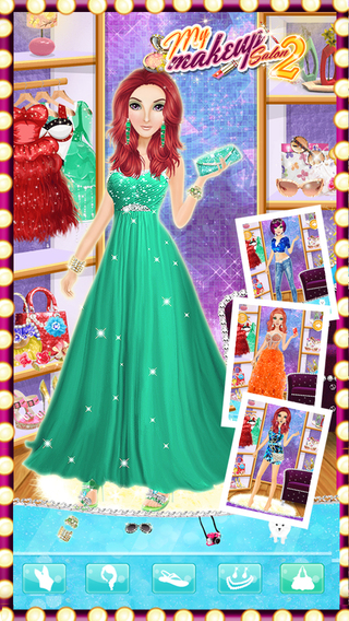 My Makeup Salon 2 - Girls Fashion Dress Up Face Beauty Makeover Game
