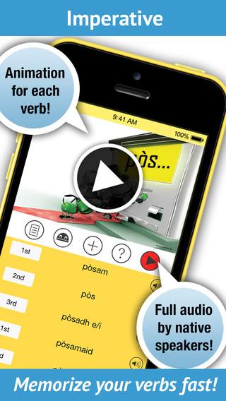 Learn Scottish Gaelic Verbs Pro - LearnBots
