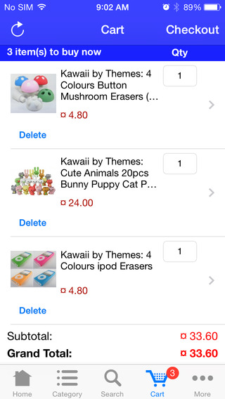Party Erasers