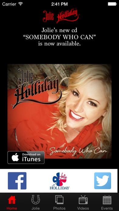 Jolie Holliday iPhone Screenshot 1