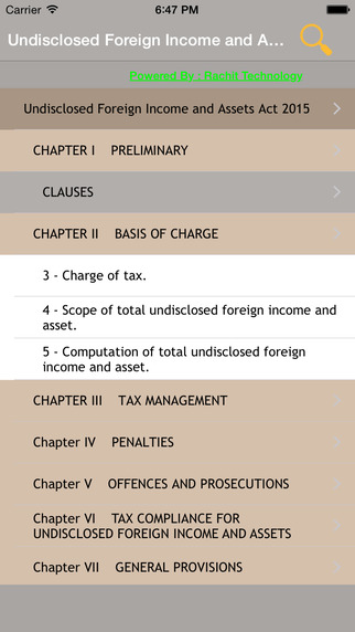 Undisclosed Foreign Income and Assets Act 2015