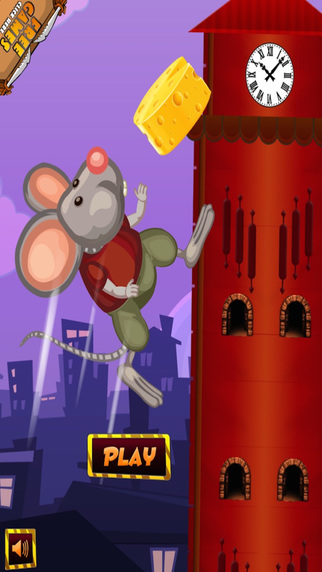 ` Mouse Ran Up The Clock Roof Top Racing Arcade Free Game