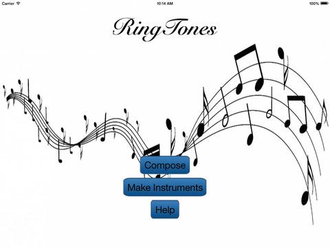 Ringtone Composer Pro Скриншоты5