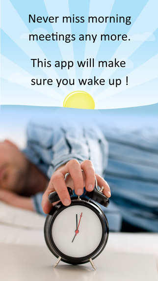 Crazy WakeUp Alarm Free for heavy sleepers with spin maths shake and questions to wake up