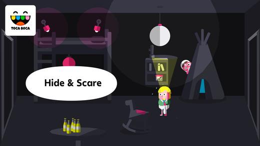 Toca Boo Apps for iPhone/iPad screenshot