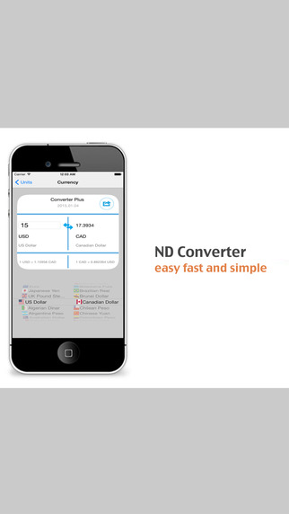 ND Converter - Convert Units And Currencies