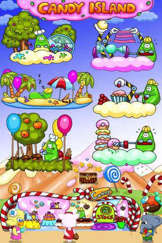 Screenshot 1 Candy Island - The Sweet Shop