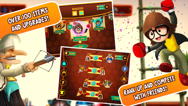 """'Puppet Punch' Review : """"a charming action affair"""" (via @GameMob_)"""