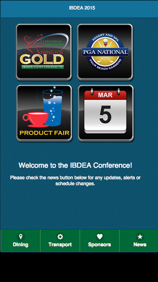 IBDEA 2015 App