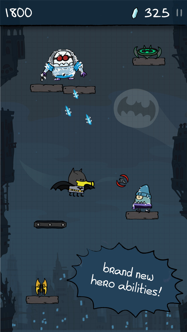 Doodle Jump DC Super Heroes