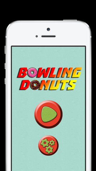 Food - Bowling Donuts - Mini Game