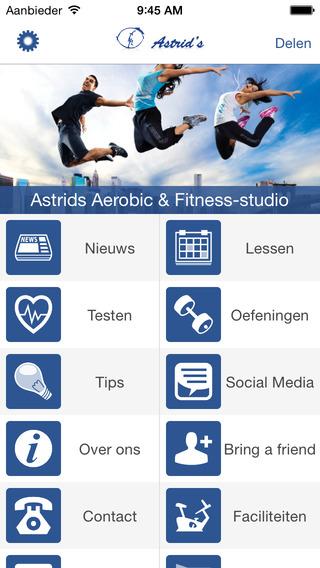 Astrid's Aerobics en Fitness-studio