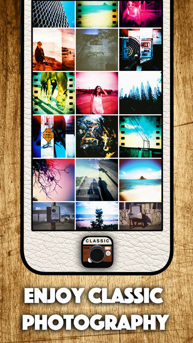 Classic Film Camera - analog film diana photo Hipster and Vintage Camera Lomo Apps free for iPhone/iPad screenshot