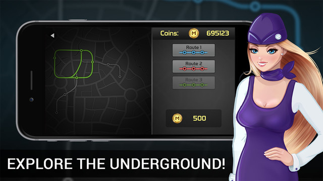 Subway Simulator 3D Deluxe