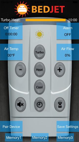 BedJet Remote Control