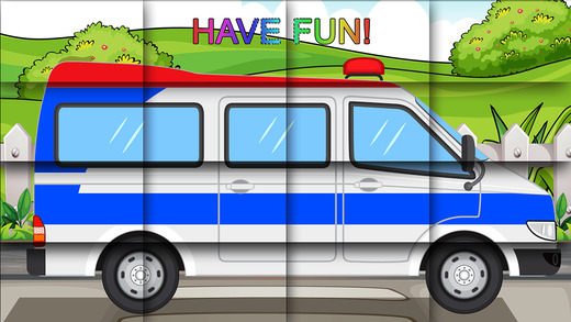 Vehicles Puzzle Game For Kids