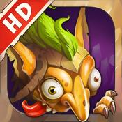 策略塔防 – 防御大师 HD Gnumz: Masters of Defense HD TD [iOS]