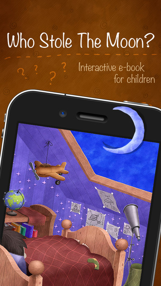 Who Stole The Moon - Interactive e-book for childr