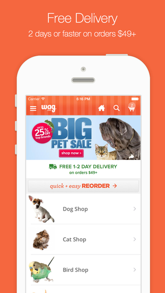 Wag.com - Buy Dog Food and Treats Cat Food and Litter - Free Shipping