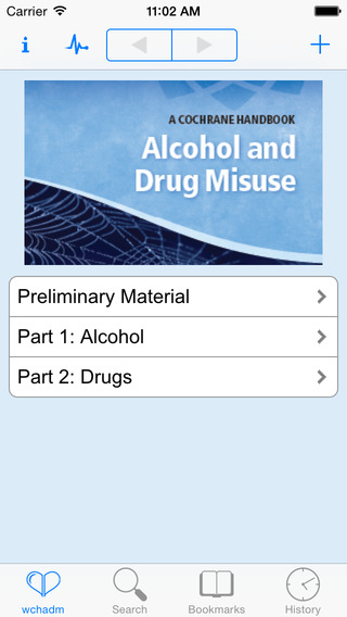 Cochrane Handbook of Alcohol and Drug Misuse