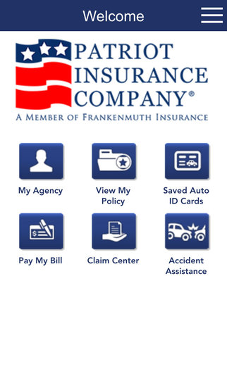 Amica Insurance mobile app has inventory feature - YouTube