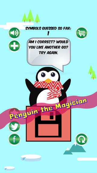 An Arctic Penguin the Magician - I Guess Your Mind Free
