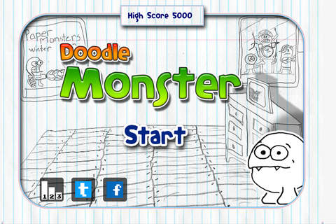 Doodle Monster screenshot 3