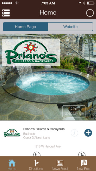 Priano's Billiards Backyards
