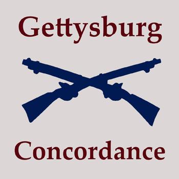 Gettysburg Concordance LOGO-APP點子