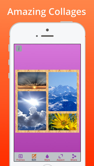 Collage++ For Picture Collages Plus Photo FX Editor
