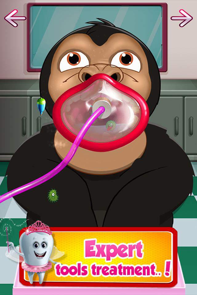 小动物的牙医 —— 宝贝友好, 免费医生手术 & 动物医院游戏
