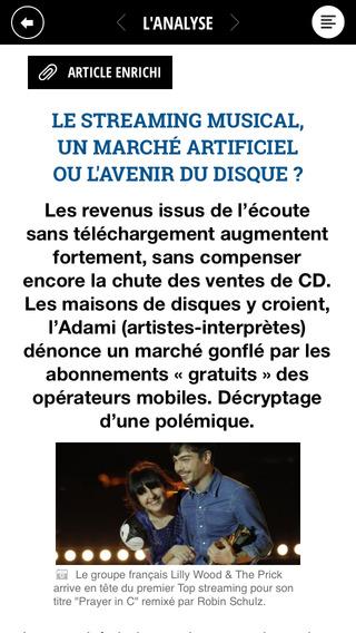 La Tribune pour iPad iPhone Screenshot 4