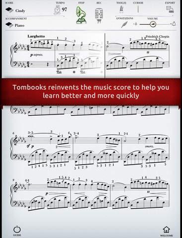 Play Chopin – Nocturne No. 1 interactive piano sheet music