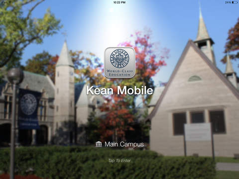 Kean Mobile iPad Screenshot 1