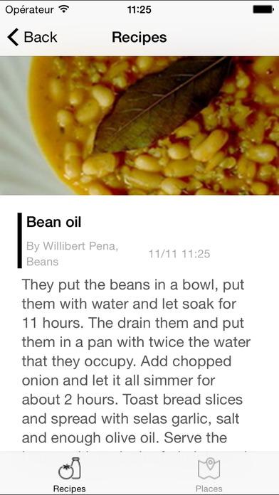 Cuban Recipes - Beans iPhone Screenshot 1