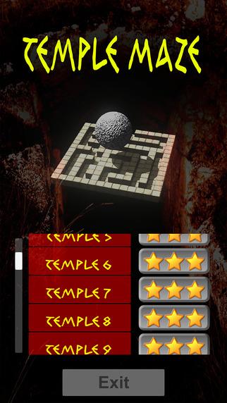 Temple Maze HD