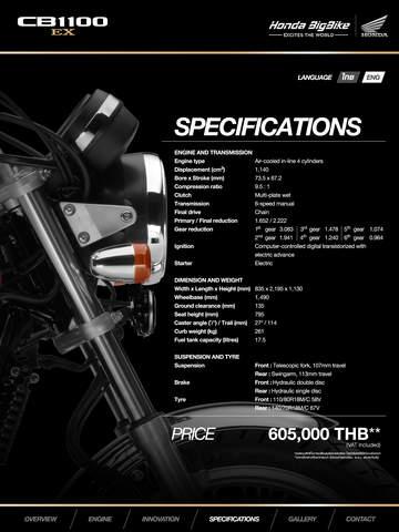 CB1100 EX-Honda BigWing
