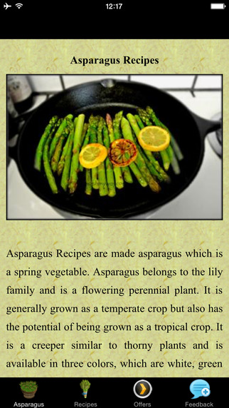 Asparagus Recipes - Chilli Garlic